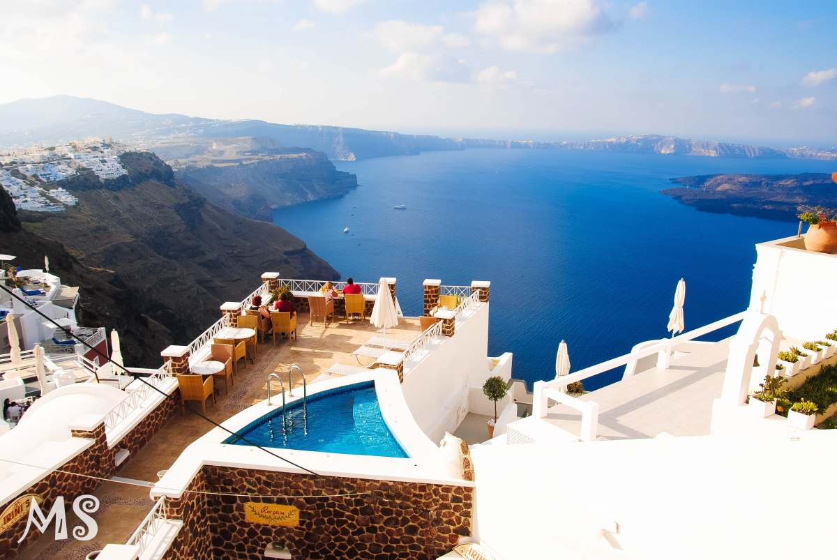 The one and only: Santorini